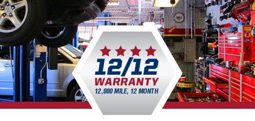 12.000 Mile / 12-Month Warranty